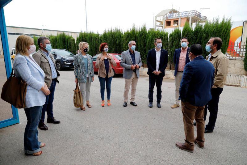 La Comisión Permanente no Legislativa para las Políticas Integrales para la Discapacidad de las Cortes de Castilla-La Mancha, visita Fundación Asla