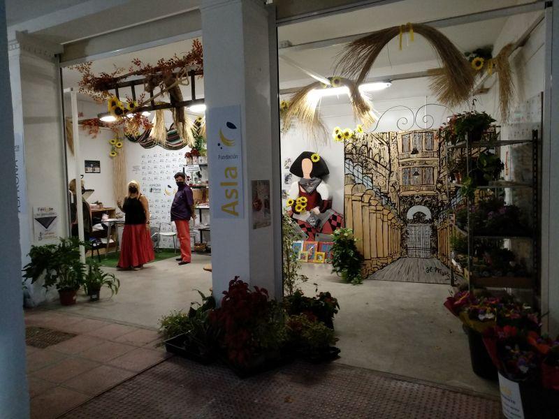 Stand de Asprona y Fundación Asla en el Recinto Ferial de Albacete
